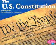 Cover of: The U.s. Constitution | Kathy Allen