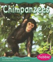 Cover of: Chimpanzees (Rain Forest Animals) by Helen Frost