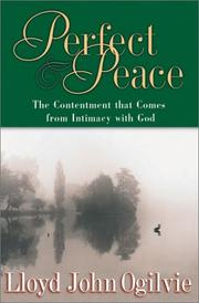 Cover of: Perfect Peace | Lloyd John Ogilvie