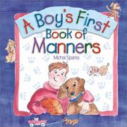 Cover of: A Boy's First Book of Manners by Michal Sparks