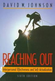Cover of: Reaching out | Johnson, David W.