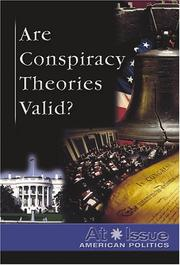Cover of: Are Conspiracy Theories Valid? | Stuart A. Kallen