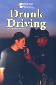 Cover of: Drunk Driving by Mike Wilson