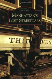 Cover of: Manhattan's Lost Streetcars (NY)  (Images of Rail) | Stephen L. Meyers