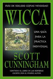 Cover of: Wicca--Spanish Cunningham by Scott Cunningham