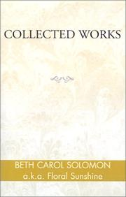 Cover of: Collected Works | Beth Carol Solomon