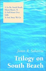 Cover of: Trilogy on South Beach | James R. Sabatino