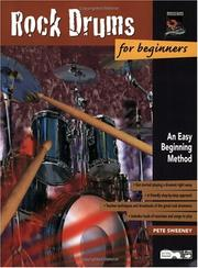 Cover of: Rock Drum for Beginners | Pete Sweeney