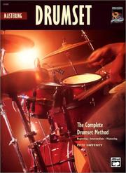 Cover of: Mastering Drumset | Pete Sweeney