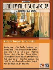 Cover of: The Family Songbook by Dan Coates