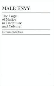 Cover of: Male envy | Mervyn Nicholson
