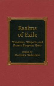 Cover of: Realms of Exile by Domnica Radulescu