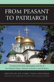 Cover of: From Peasant to Patriarch | Kevin Kain