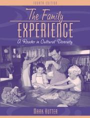 Cover of: The Family Experience by Mark Hutter