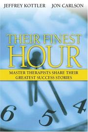 Cover of: Their Finest Hour | Jon Carlson