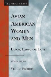 Cover of: Asian American Women and Men | Espiritu Yen