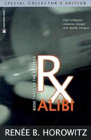 Cover of: Rx Alibi (RX) by Renee B. Horowitz