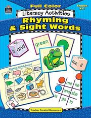 Cover of: Full-Color Literacy Activities by Kari Sickman