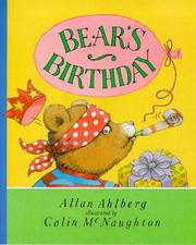 Cover of: Bear's Birthday | Allan Ahlberg