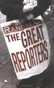 Cover of: The Great Reporters by David Randall