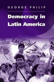 Cover of: Democracy in Latin America by Rajneesh Narula