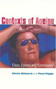 Cover of: Contexts of Ageing by Paul Higgs