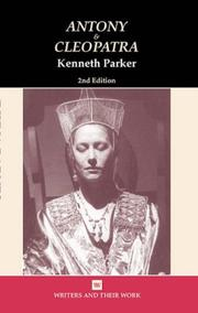 "Cover of: William Shakespeare's ""Antony and Cleopatra"" 