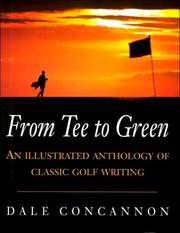 Cover of: From Tee to Green by Dale Concannon