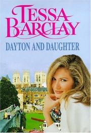 Cover of: Dayton and daughter | Tessa Barclay