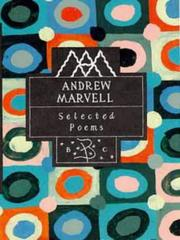 Cover of: Poems by Andrew Marvell