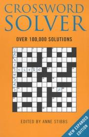 Cover of: Bloomsbury Crossword Solver | Anne Stibbs