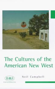 Cover of: The cultures of the American New West | Neil A. Campbell