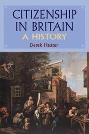 Cover of: Citizenship in Britain by Derek Heater