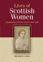 Cover of: The Lives of Scottish Women | William Knox