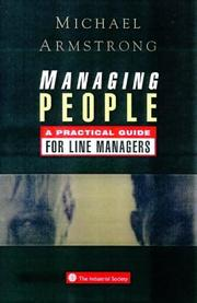 Cover of: Managing People | Michael Armstrong