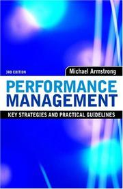 Cover of: Performance management | Michael Armstrong