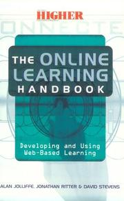 Cover of: The online learning handbook | Alan Jolliffe