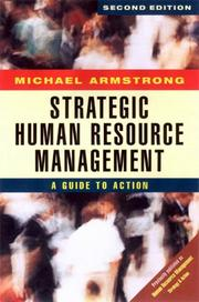 Cover of: Strategic Human Resources Management | Michael Armstrong