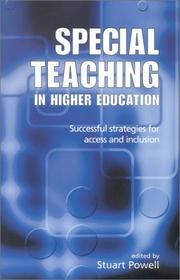 Cover of: Special Teaching in Higher Education | Stuart Powell