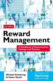 Cover of: Reward management | Michael Armstrong