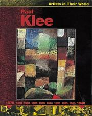Cover of: Paul Klee (Artists in Their World) | J. Laidlaw