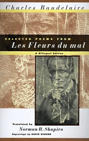 Cover of: Selected poems from Les fleurs du mal by Charles Baudelaire
