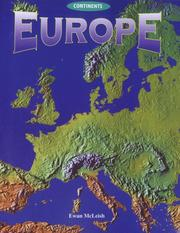 Cover of: Europe (Continents) by Ewan McLeish