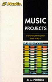 Cover of: Music projects | Model Railway Projects