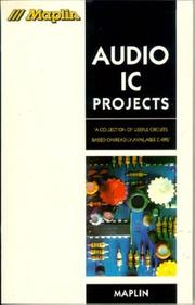 Cover of: Audio IC projects | Keith Brindley