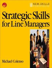 Cover of: Strategic skills for line managers | Michael Colenso