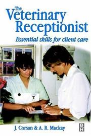Cover of: The veterinary receptionist | John R. Corsan