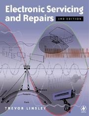 Cover of: Electronic servicing and repairs | Trevor Linsley