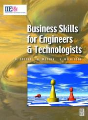 Cover of: Business skills for engineers and technologists | Harry Cather
