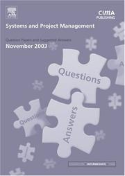 Cover of: Systems and Project Management November 2003 Exam Q&As (CIMA November 2003 Q&As) | CIMA